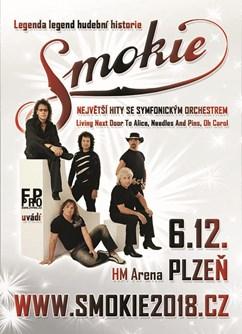 SMOKIE - The Symphony Tour 2018- koncert Plzeň -Home Monitoring Arena, Štefánikovo nám. 833/1, Plzeň