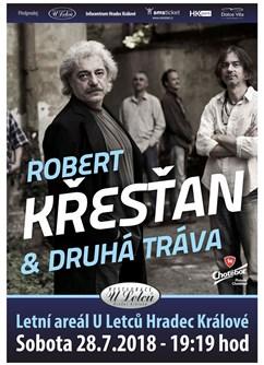 Robert Křesťan & Druhá Tráva - koncert v Hradci Králové -Restaurace