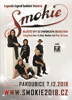 SMOKIE - The Symphony Tour 2018 (Pardubice)- koncert Pardubice -Tipsport Arena, Sukova třída 1735, Pardubice