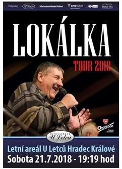 Lokálka Tour 2018- koncert Hradec Králové -Restaurace