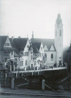 Zdeněk Lukeš: Architekt Josef Zasche (1871-1957)- Praha -Kaštan - Scéna Unijazzu , Bělohorská 150, Praha