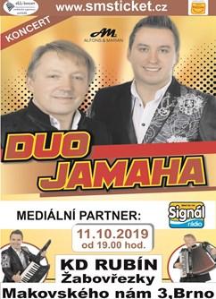 Taneční zábava s Duo Jamaha- Brno -KD Rubín, Makovského náměstí , Brno