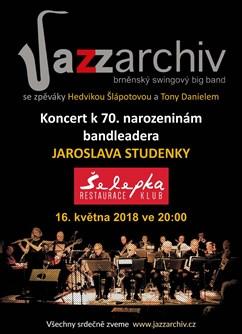 Jazz Archiv na Šelepce - koncert Brno -Klub Šelepka, Šelepova 1, Brno