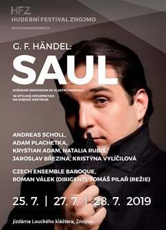 G.F.Händel: Saul - premiéra / Andreas Scholl, Adam Plachetka