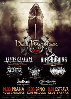 Hellhammer festival 2019 - koncert v Ostravě -BARRÁK music club, Havlíčkovo Nábřeží 28, Ostrava