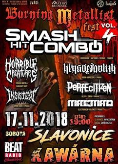 Burning Metallist Fest Vol.4- Slavonice -Kawarna, náměstí Míru 466, Slavonice