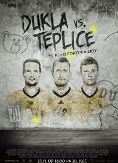 FK Dukla Praha: FK Teplice  (Fortuna : Liga)- Praha -FK Dukla Praha, Na Julisce 28/2, Praha