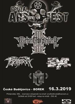 Brutal ARSSFEST 2019- České Budějovice -Borek u Českých Budějovic, Pražská, České Budějovice