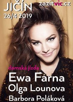 Dámská jízda - Ewa Farna, Barbora Polaková, Olga Lounová