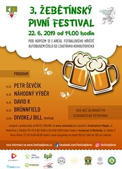 Žebětínský pivní festival s kapelou Divokej Bill revival