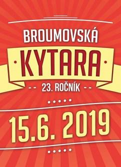 Festival Broumovská kytara 2019- Broumov- VYPSANÁ FIXA,  EVA PILAROVÁ,  THOM ARTWAY a další -Dětské hřiště, Třída Masarykova, Broumov