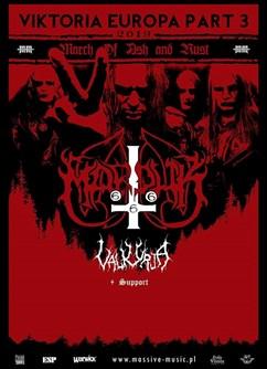 Marduk, Valkyrja- koncert v Brně -Melodka, Kounicova 20/22, Brno