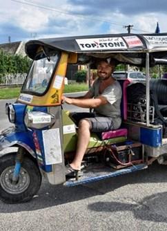 Tuktukem z Thajska na Moravu s Tomíkem na Cestách / Lipník- Lipník nad Bečvou -Městská knihovna Lipník nad Bečvou, nám.T.G. Masaryka 11, Lipník nad Bečvou