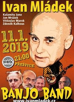 Ivan Mládek & Banjo Band ve Stodole!- Přeštice -Music club Stodola & Bowling, Nepomucká 211, Přeštice