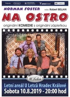 """"""" NA OSTRO """" divadelní komedie"""