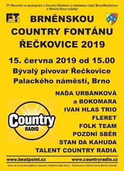Brněnská Country Fontána Řečkovice 2019