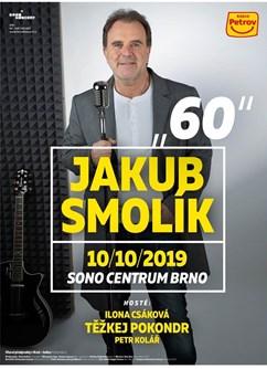 Jakub Smolík 60- koncert v Brně -Sono Centrum, Veveří 113, Brno