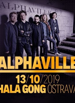 Alphaville- koncert v Ostravě -Multifunkční aula Gong, Ruská 2993, Ostrava