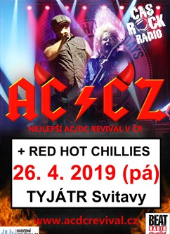 AC/CZ (AC/DC tribute band) + Red Hot Chillies