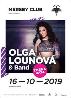 Olga Lounová & Band - koncert v Brně -Mersey Klub, Minská 15, Brno