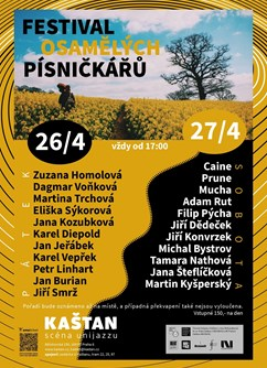 Jarní festival Osamělých písničkářů