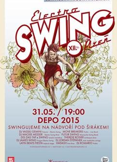 Electro SWING Plzeň No. XII. - Swingujeme pod širákem!