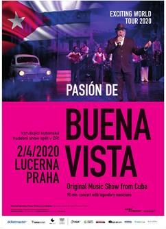 Pasión de Buena Vista (Cuba)- Praha -Lucerna - Velký sál, Štěpánská 1, Praha