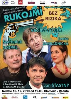 Rukojmí bez rizika- Francouzská komedie s kriminální zápletkou- Olomouc -Reduta, Horní náměstí 23, Olomouc