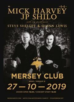 Mick Harvey/Steve Shelley - koncert v Brně -Mersey Klub, Minská 15, Brno