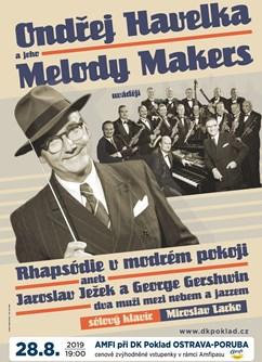 Ondřej Havelka a jeho Melody Makers- koncert v Ostravě -AMFI Ostrava-Poruba, M. Kopeckého 675, Ostrava