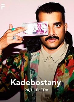 Kadebostany- koncert v Brně -Fléda, Štefánikova 24, Brno