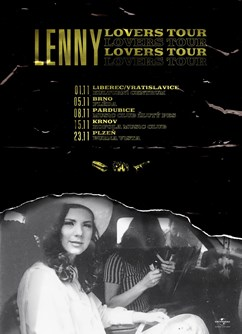 Lenny - Lovers Tour- koncert v Brně -Fléda, Štefánikova 24, Brno