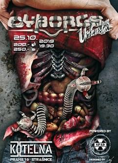 Cyborgs Unleashed 1.0- Praha -Klub Kotelna, Služeb 3a, Praha