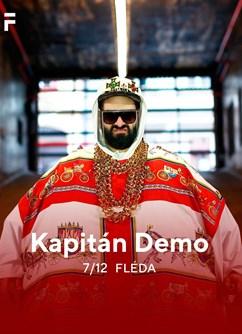 Kapitán Demo- koncert v Brně -Fléda, Štefánikova 24, Brno
