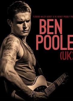 Ben Poole Band (UK/CZ) - Brno -Stará Pekárna, Štefánikova 75/8, Ponava, Brno, Brno