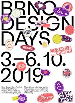 Brno Design Days 2019- Brno -Bochnerův palác - areál Vlněny, Přízova 5/7, Brno