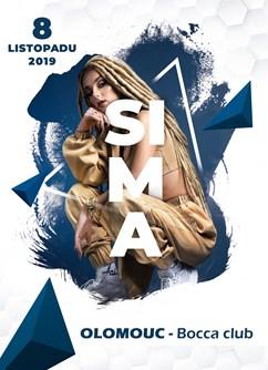 Sima ( SK ) Poprvé v Olomouci- koncert Olomouc -Bocca club, 1. Máje 825/4, Olomouc