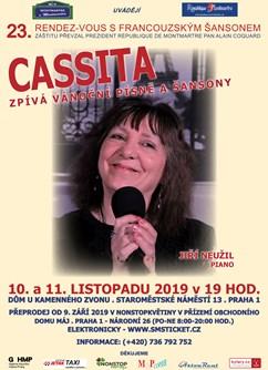 Cassita zpívá vánoční písně a šansony- Praha -Dům U Kamenného zvonu, Staroměstské nám. 13, Praha