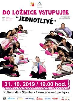 Do ložnice vstupujte jednotlivě- divadelní představení- Šternberk -Kulturní dům, Masarykova 20, Šternberk