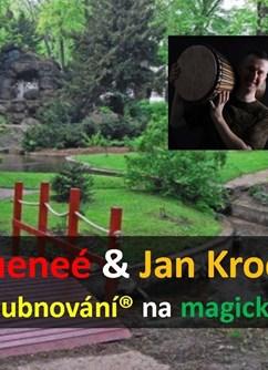 Bubnování na magických místech- Praha -Chotkovy sady, Marianské hradby 52, Praha