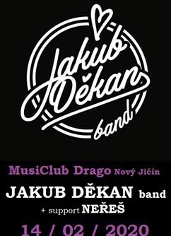 Koncert Jakuba Děkana- Nový Jičín- Jakub Děkan je liberecká ikona tuzemské hudební scény -MusiClub Drago, Hřbitovní 1097/24, Nový Jičín
