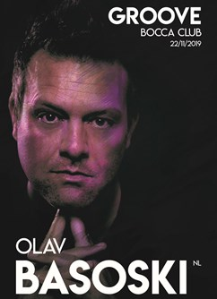 Groove w/ Olav Basoski (NL)- Olomouc -Bocca club, 1. Máje 825/4, Olomouc