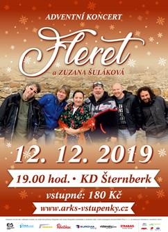 Adventní koncert Fleret a Zuzana Šuláková- Šternberk -Kulturní dům, Masarykova 20, Šternberk