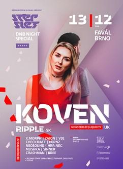 Stepslet w/ Koven- Brno -Favál music circus, Křížkovského 416/22, Brno