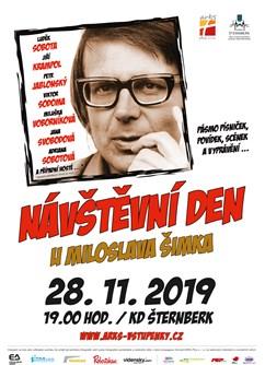 Návštěvní den u Miloslava Šimka- Šternberk -Kulturní dům, Masarykova 20, Šternberk