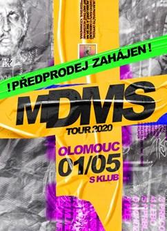 MDMS TOUR 2020 - Separ,Dame,Smart- koncert v Olomouci -Sklub, 17.listopadu 43, Olomouc