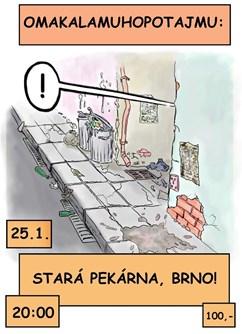 Omamakalamuhopotajmu- Brno -Stará Pekárna, Štefánikova 75/8, Ponava, Brno, Brno