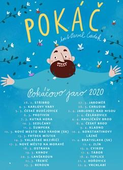 Pokáč- koncert v Českých Budějovicích- Pokáčovo jaro 2020 -K2, Sokolský ostrov 462/1,, České Budějovice
