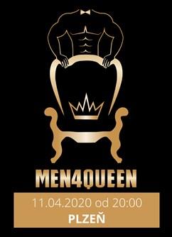Men4Queen - Cesta kolem světa- Plzeň -Klub Papírna Plzeň, Zahradní 2, Plzeň