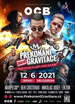 OCB Překonání Gravitace 2020- Brno -Velodrom Brno, Křížkovského 22, Brno